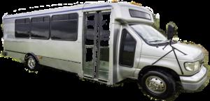 grey bus