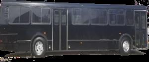 xl black bus